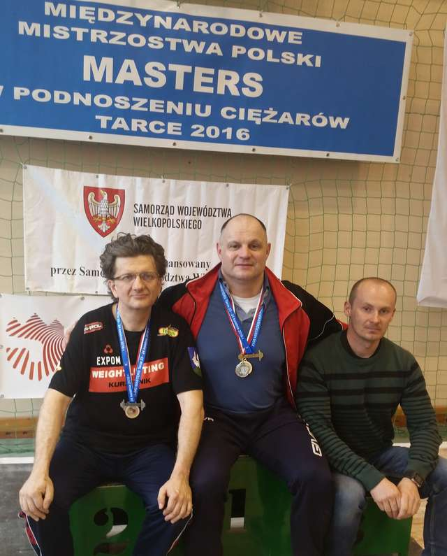 Panowie Mariusz, Mirek i Arkadiusz w Jarocinie