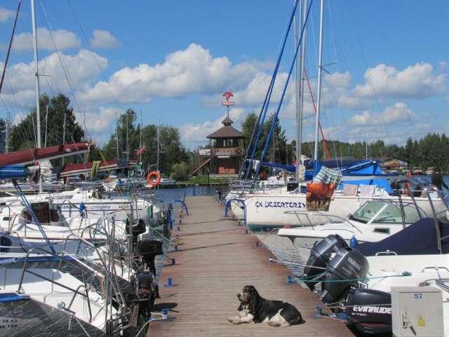 Przystań żeglarska w Węgorzewie - full image