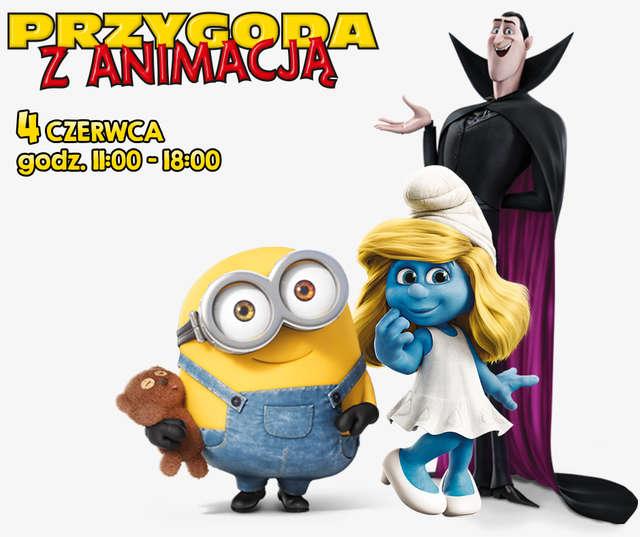 Dzień Dziecka ze Smerfetką, Draculą i Minionkiem Bobem! - full image
