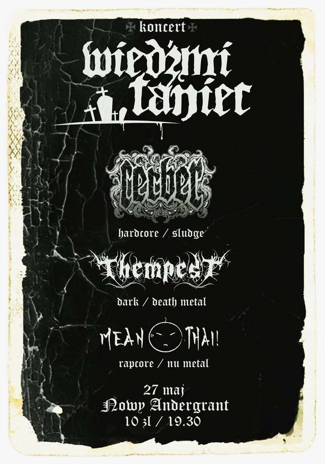 Metalowcy z Thempest i Cerber zagrają w Andergrancie! - full image