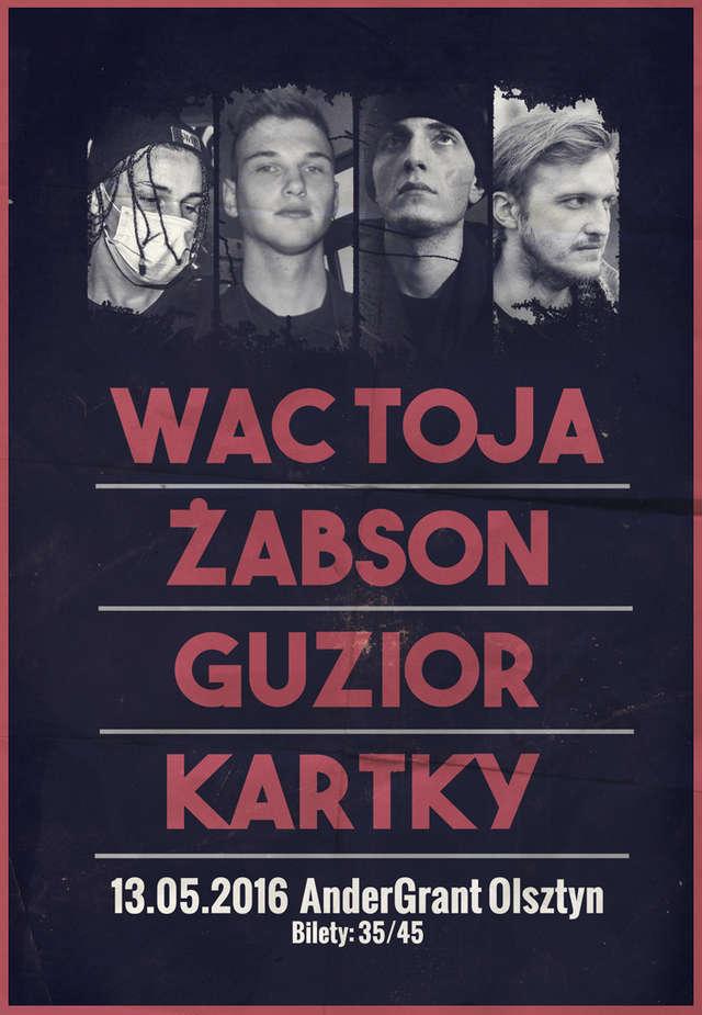Wac Toja, Żabson, Guzior i Kartky zagrają w Andergrancie! - full image