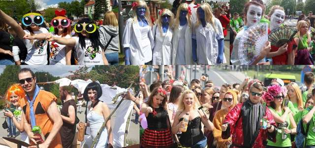 Kortowiada 2016! Zobacz paradę studentów ulicami Olsztyna z lotu ptaka [ZDJĘCIA I FILMY] - full image