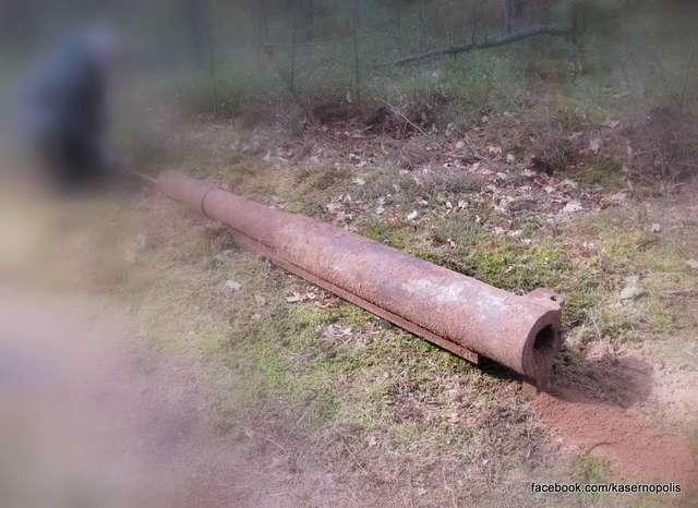Odnaleziono carską armatę z Bitwy pod Tannenbergiem - full image