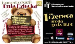 Dzień Dziecka w Filharmonii Warmińsko-Mazurskiej