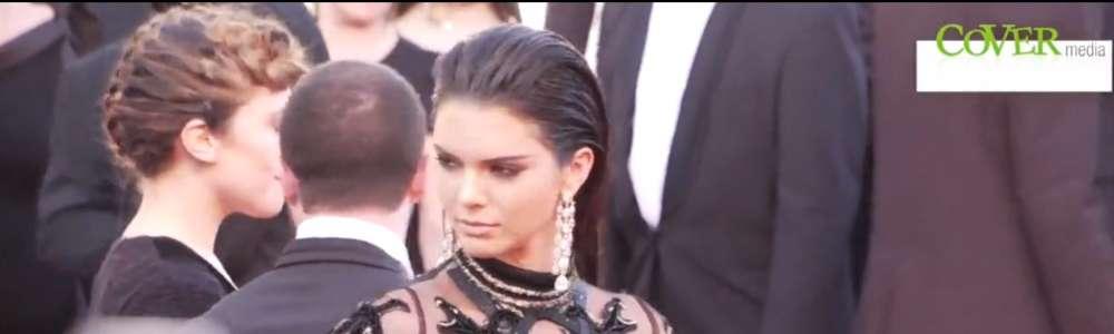 Kendall Jenner w prześwitującej sukni Cavalli w Cannes