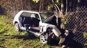 24-latek rozbił samochód na drzewie. Sąd wcześniej zabrał mu prawo jazdy