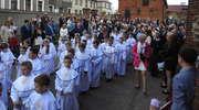 Pierwsza grupa dzieci przyjęła komunię w Nowym Mieście