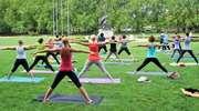 Bezpłatne zajęcia jogi w Parku Kajki