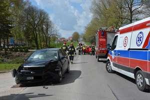 Wypadek pod Oleckiem. Trzy osoby ranne
