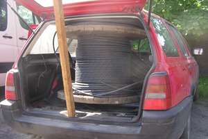 Ukradli kable i wpadli