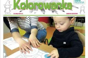 Z najnowszym numerem gazety KOLOROWANKA - prezent na DZIEŃ DZIECKA!
