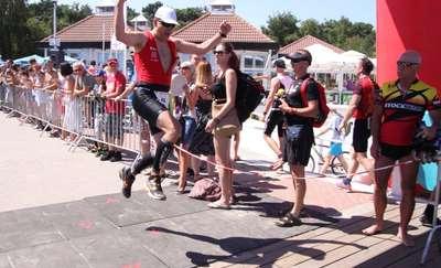 Triathlon w Lidzbarku coraz bardziej atrakcyjny