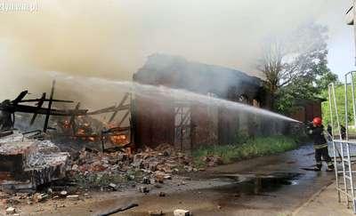 Pożar w parowozowni: Biegły zbada, czy toksyny były groźne dla zdrowia ludzi