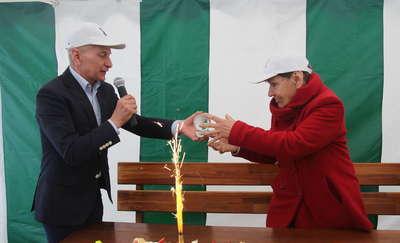 Pierwsza Dama  Oceanów na otwarciu sezonu żeglarskiego w Ostródzie