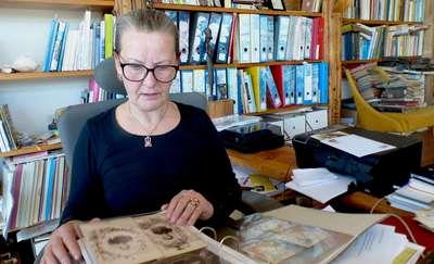 Danuta Thiel-Melerska, mieszkanka Nadbrzeża zgromadziła kolekcję dziesięciu tysięcy zdjęć