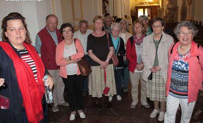 Pielgrzymi z Niemiec w Prositach i Bisztynku