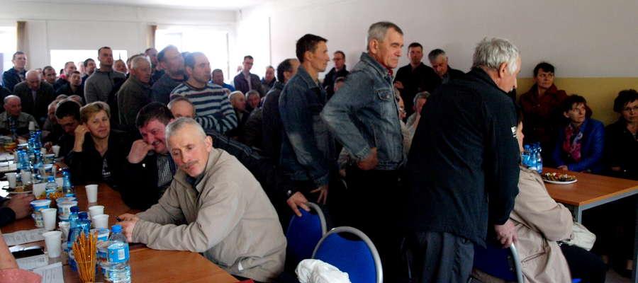 Na zebraniu pojawiło się około stu dostawców mleka