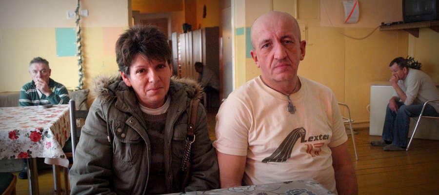 Pani Beata i pan Krzysztof marzą o tym, by zostać dłużej w Leśnym Zaciszu