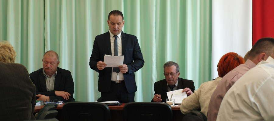 Radni udzielili wójtowi Jackowi Grzybickiemu absolutorium