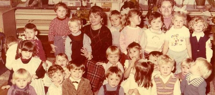 Jedno z archiwalnych, przedszkolnych zdjęć