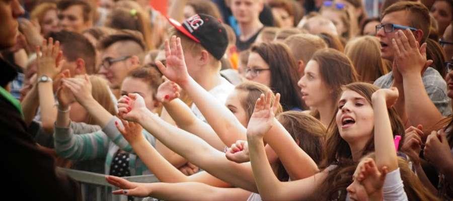 Publiczność lubawskiego koncertu
