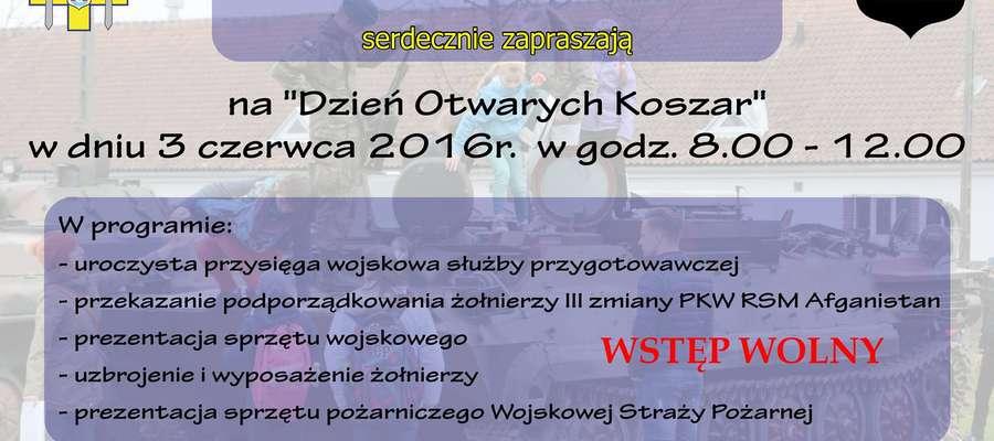 Dzień Otwartych Koszar w 20. BBZ z przysięgą wojskową