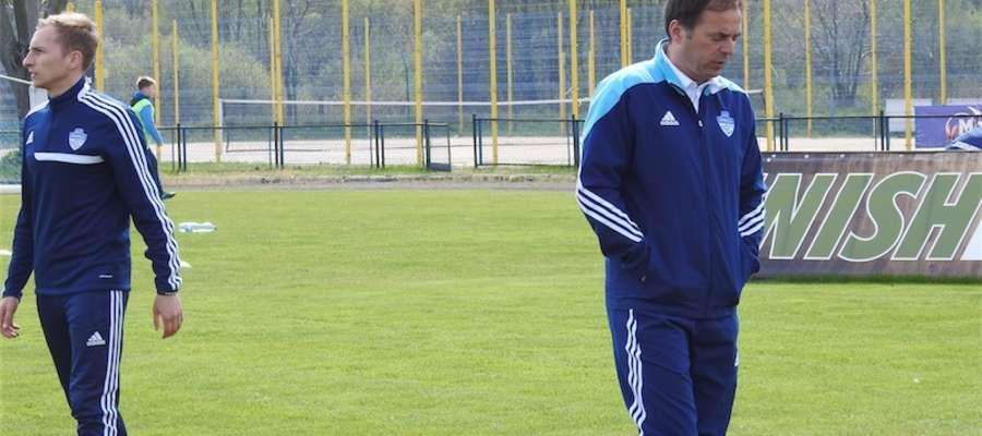 Trener Marek Witkowski