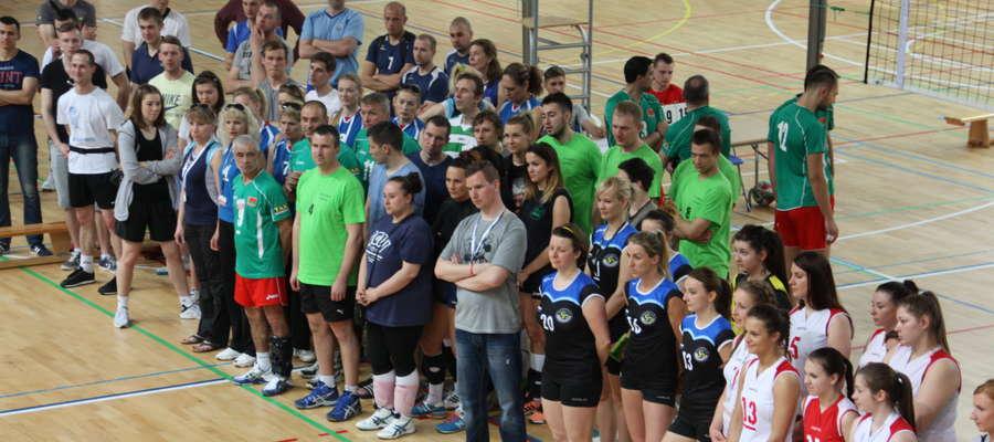 Oficjalne otwarcie turnieju odbyło się w sobotę po godzinie 11