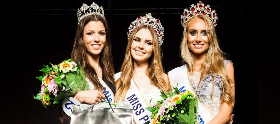 Pierwsza z prawej - Miss Warmii i Mazur 2016 - Monika Ciołkowska