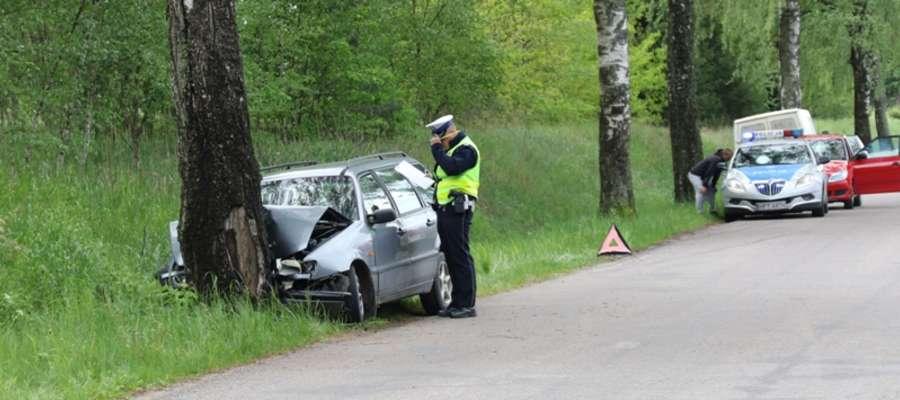 Wypadek w Jeziorowskich