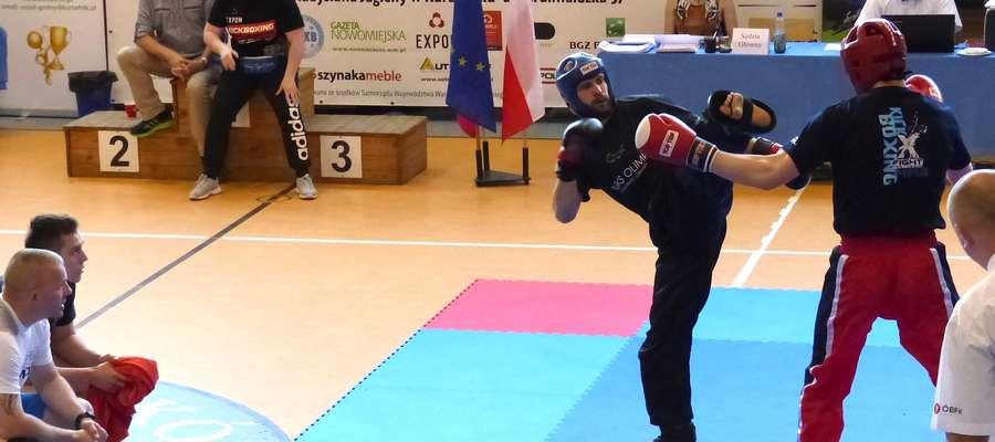 Sebastian Prokop podczas finałowego pojedynku z rywalem