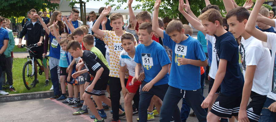 W piątek 20 maja odbył się bieg ulicami Żuromina
