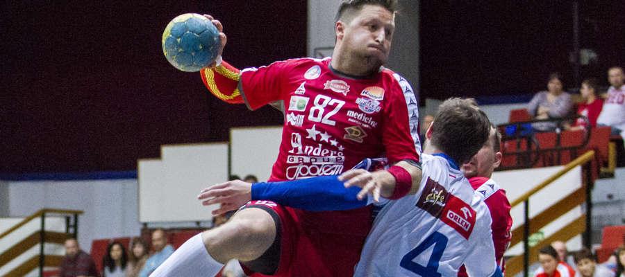 Marcin Malewski rzuca w tym sezonie średnio siedem bramek na mecz