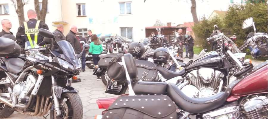 Zlot motocyklistów wpisał się na stałe w krajobraz Orzysza