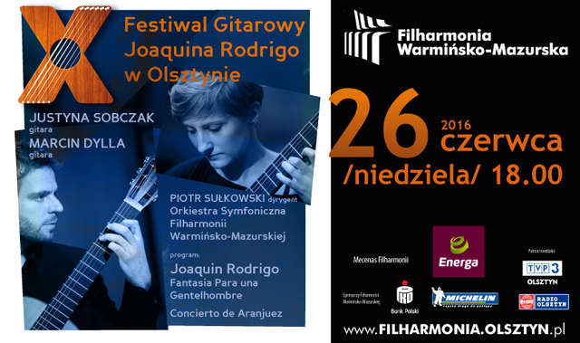 X Festiwal Gitarowy Joaquina Rodrigo w Olsztynie - full image