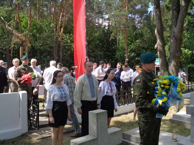 Pamiętali o żołnierzach Petlury - full image