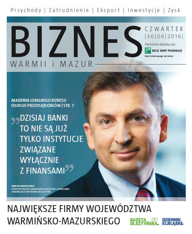 Biznes Warmii i Mazur 2016