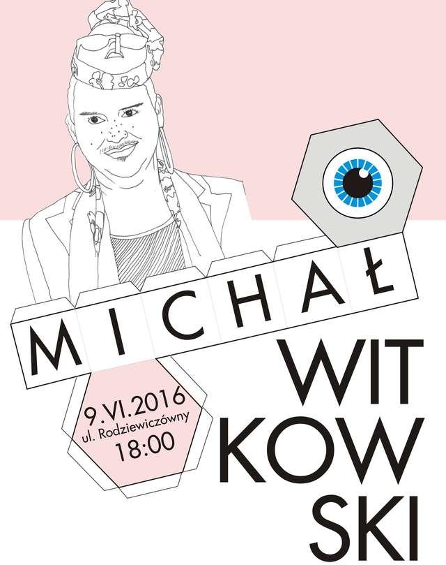 Michał Witkowski na ulicy  - full image