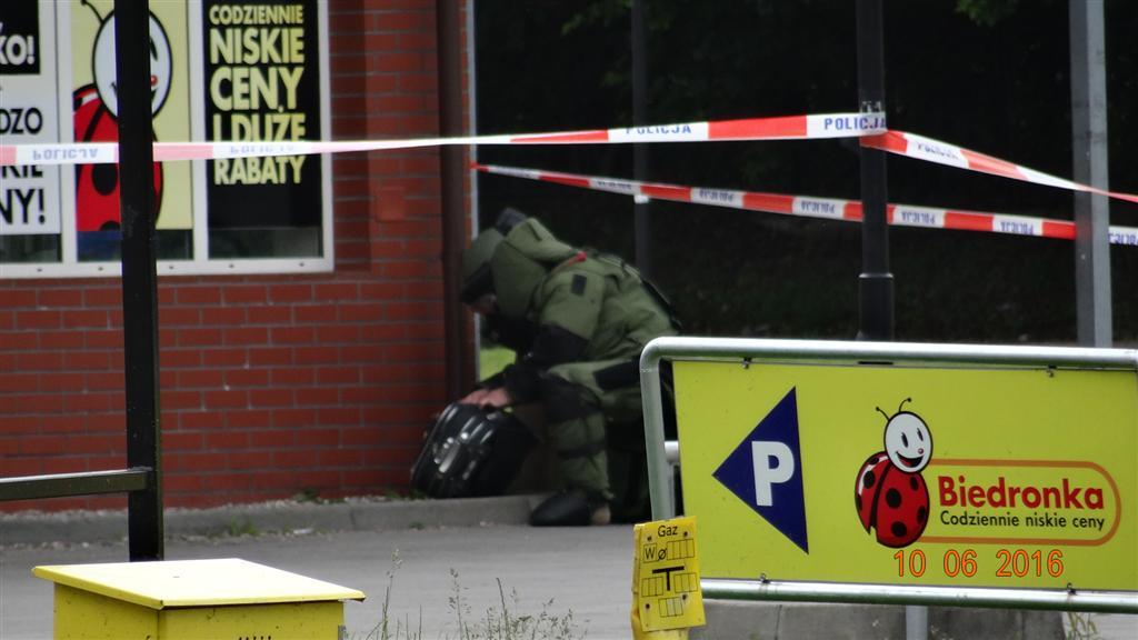 Запрет эвакуации магазинов Biedronka с случае сообщений о заложенной бомбе