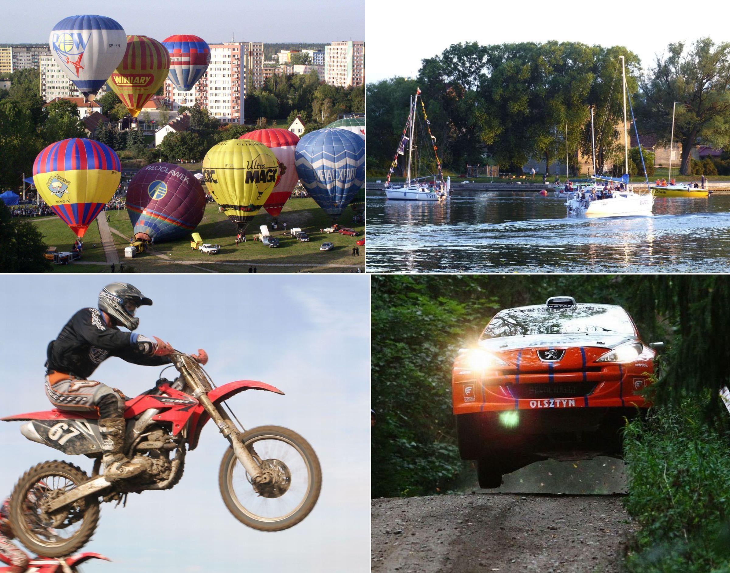 Festiwal balonowy, zawody motocrossowe i Dni Morza. Sprawdź weekendowe atrakcje!