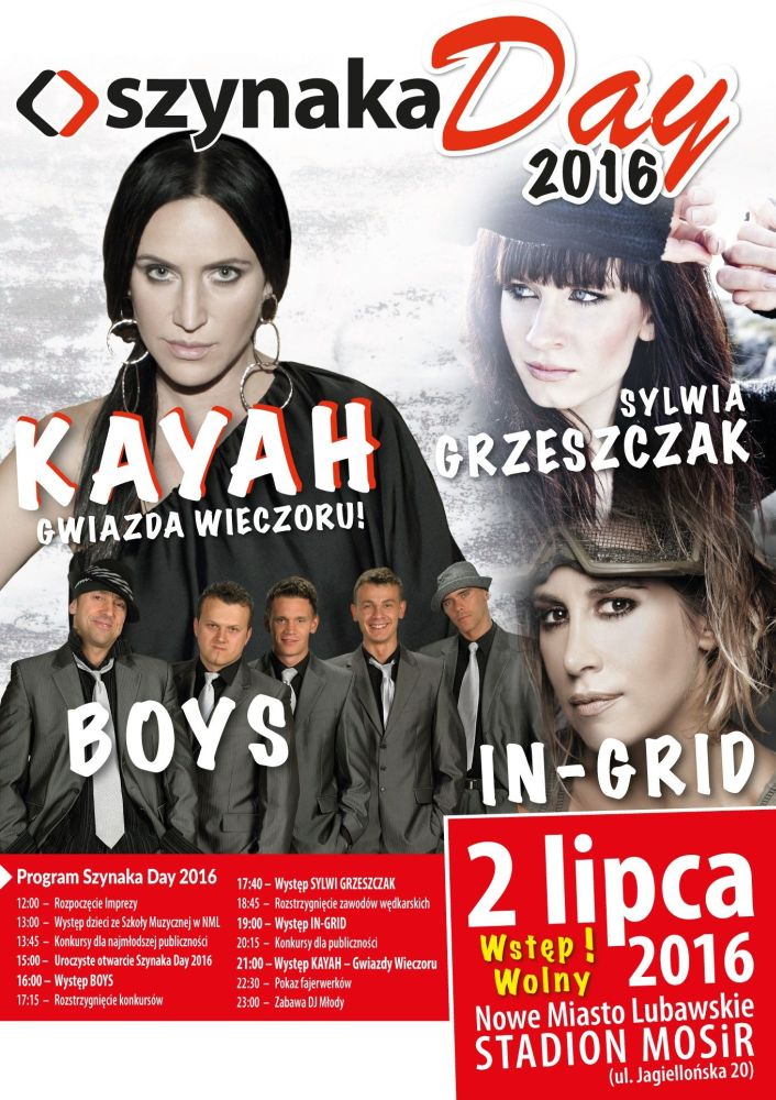 """Kayah gwiazdą wieczoru Szynaka Day 2016""""!"""