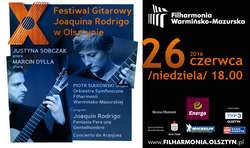 X Festiwal Gitarowy Joaquina Rodrigo w Olsztynie