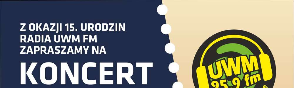 Czesław Śpiewa Solo Act na urodzinach Radia UWM FM