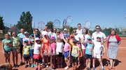Turniej tenisowy w Mikołajkach
