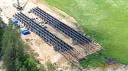 Tak powstaje największa estakada na budowie S51 pod Olsztynem! [ZDJĘCIA]