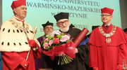 Erwin Kruk doktorem honoris causa UWM