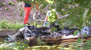Tragedia na kanale w Miłomłynie. Spłonęła 35-letnia kobieta i 8-letnie dziecko