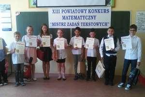 Konkurs matematyczny dla klas III w Wieliczkach