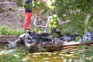 Tragedia na kanale w Miłomłynie. Spłonęła 8-letnia dziewczynka i jej 35-letnia matka