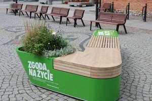 Ławka, która .... mówi na Starym Mieście w Olsztynie